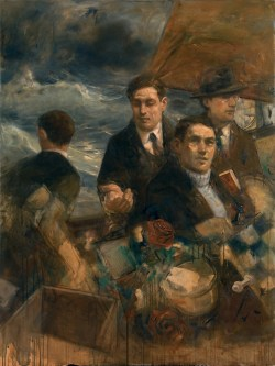 Fiction Adrift oil on canvas 122x91.5cm 2012