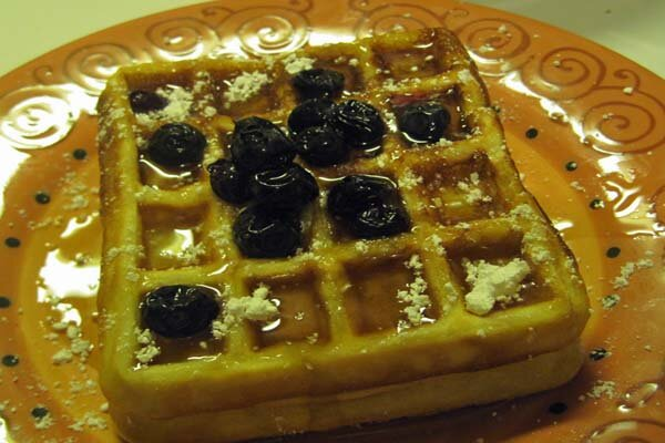 Quick and Easy Waffle Recipe