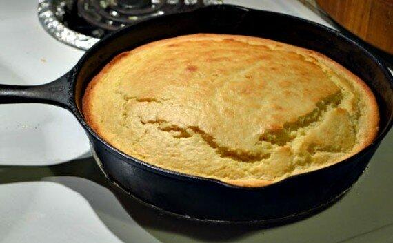 Homemade Cornbread Recipe
