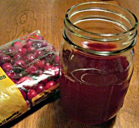 Healthy Homemade Cranberry Juice