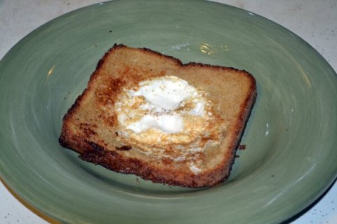 Egg-in-a-Hole Recipe