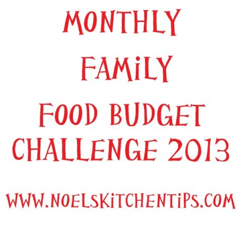 New Monthly Grocery Budget
