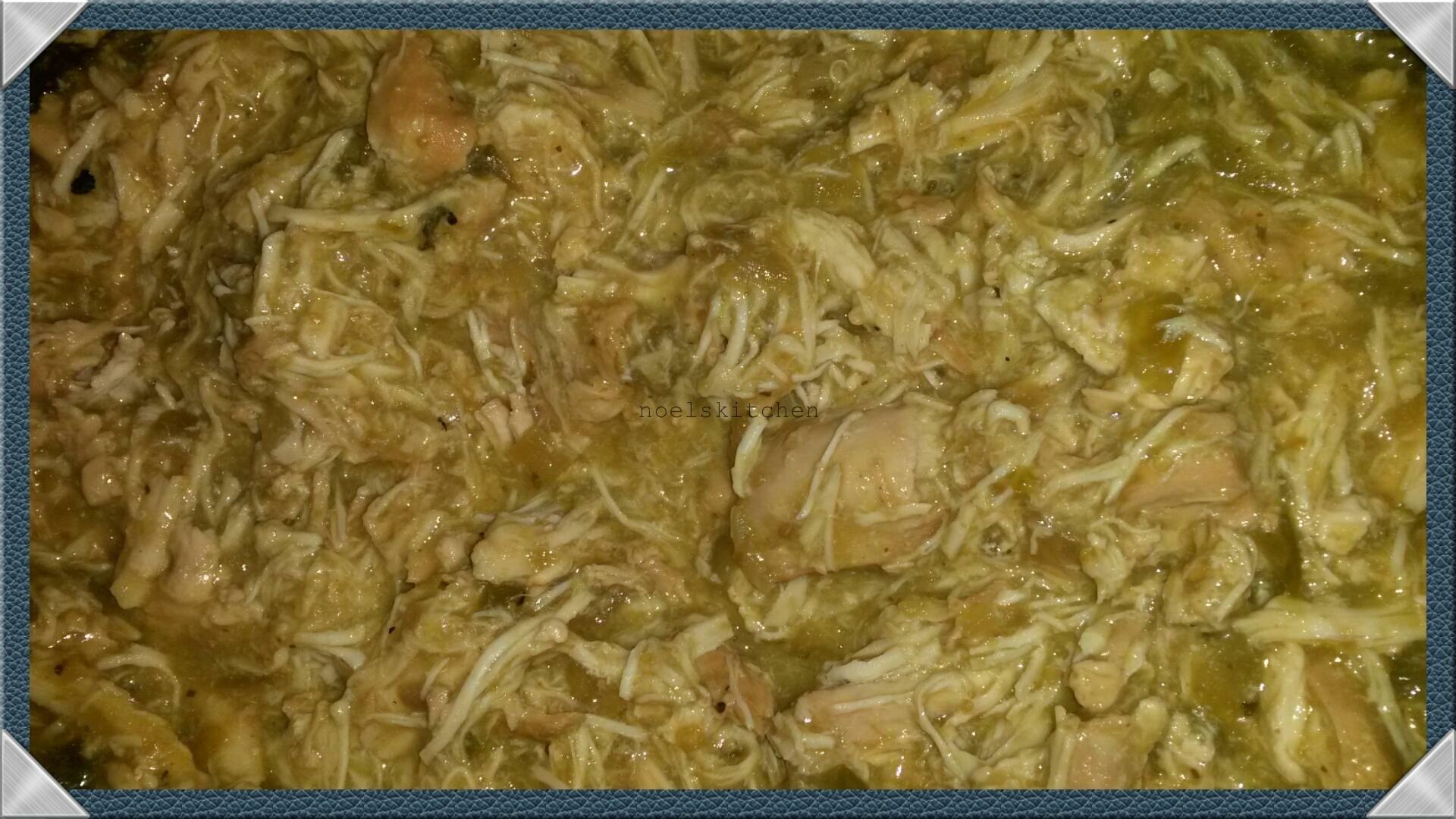 Creamy Crockpot Salsa Chicken