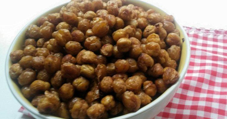Zesty Oven Roasted Chickpeas