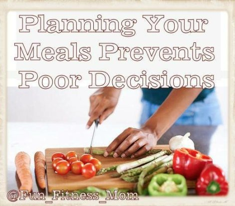Planning Your Meals Prevents Poor Decisions