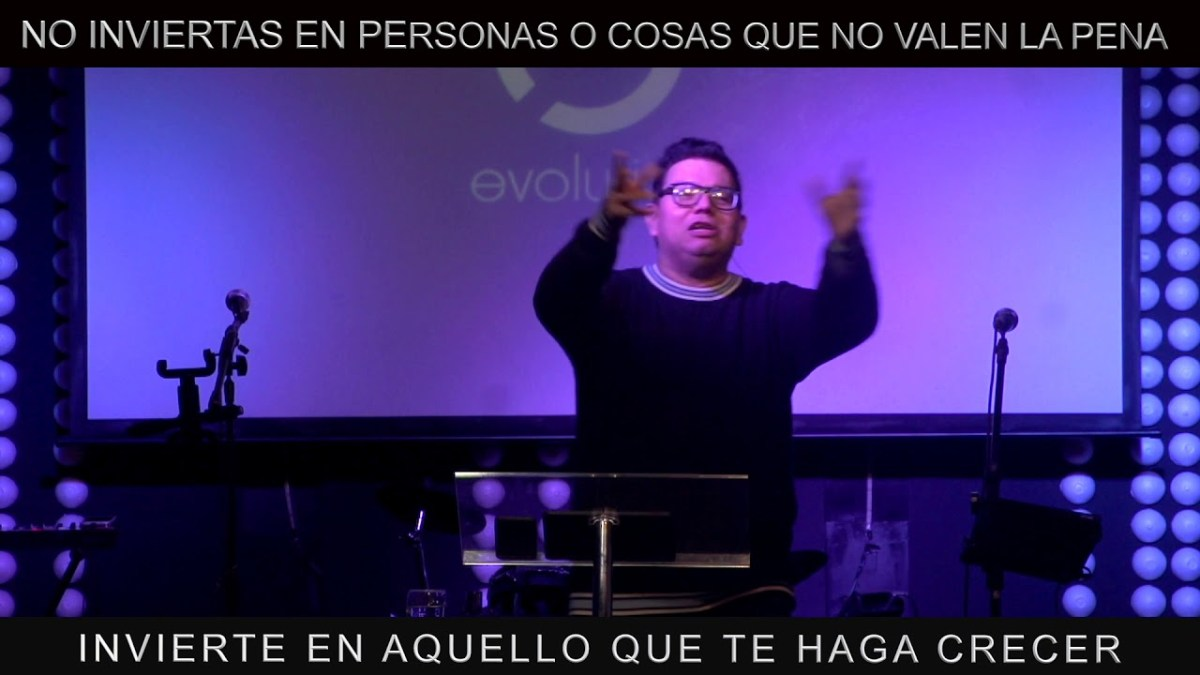 <b>Video: No inviertas en aquello que no vale la pena - Noel Solis</b>