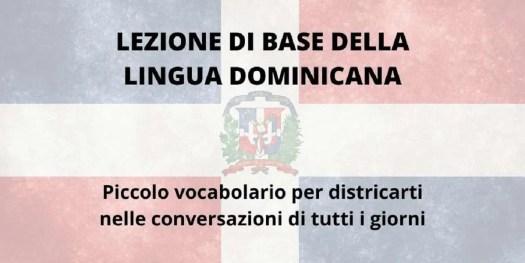 vocabolario di espressioni comuni per parlare come i dominicani