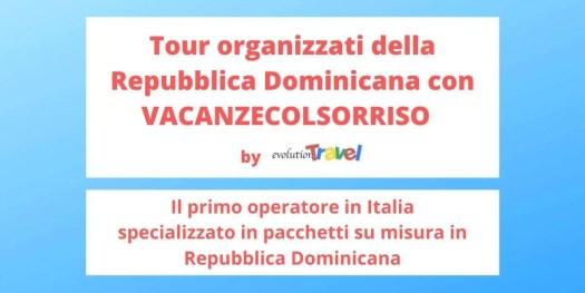 scopri i primi tour organizzati della Repubblica Dominicana sul mercato italiano