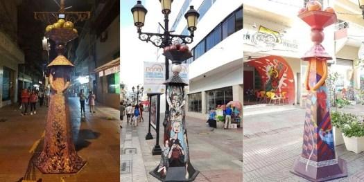 le bambole Limè a grandezza naturale in calle Conde