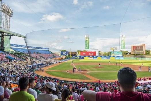 il tempio nazionale del baseball è lo stadio di Santo Domingo