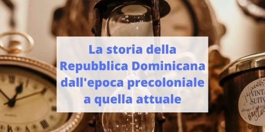 riassunto della storia della Repubblica Dominicana