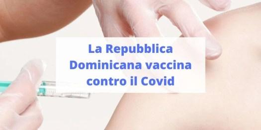 piano di vaccinazione della Repubblica Dominicana