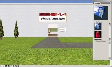 Ingresso del Museo Virtuale