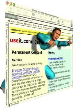 "Web Design: ""slide"" vs ""ambiente"""