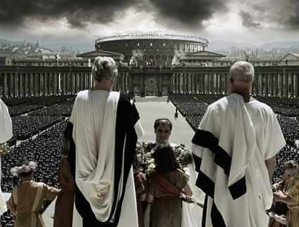 """Una spettacolare scena de """"Il Gladiatore"""". Da http://www.movieweb.com"""