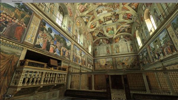 Michelangelo Buonarroti, Cappella Sistina