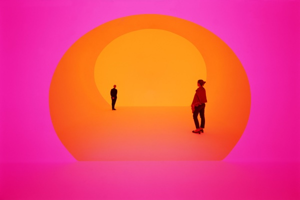 James Turrell, Work at the Shops at Crystals in Las Vegas (Ph. Florian Holzherr), 2013