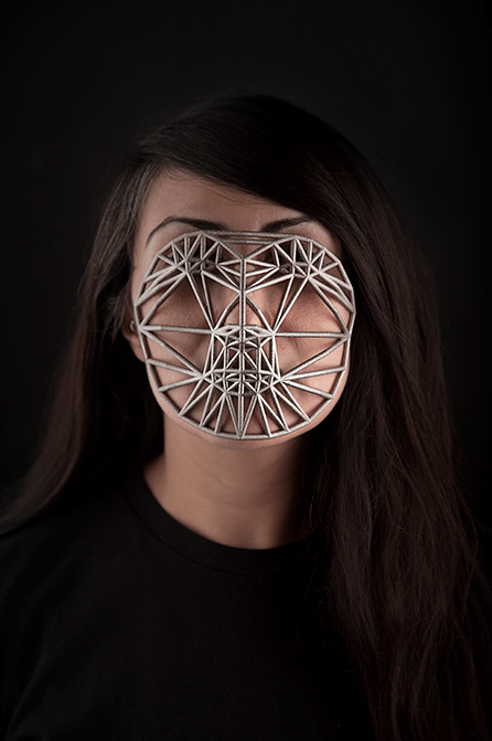 Face Cages. Zach Blas