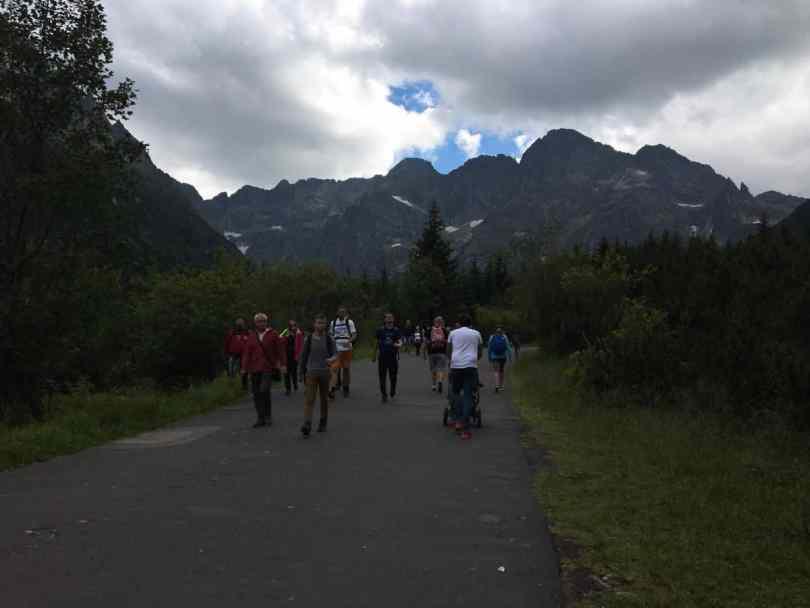 Szlaki w Tatrach z wózkiem