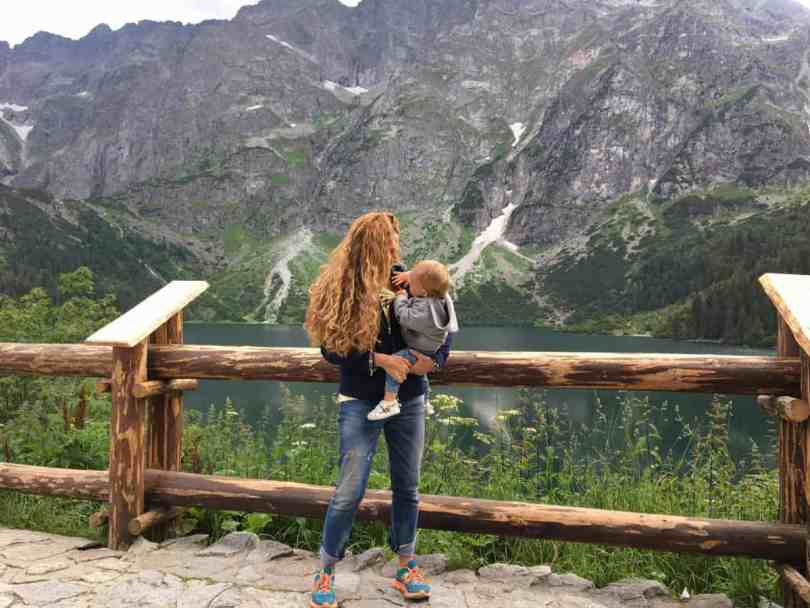 Szlaki w Tatrach z wózkiem - Morskie Oko