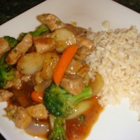 Sweet & Sour Pork Stir-Fry