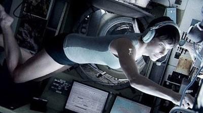 Nueva foto de Sandra Bullock en 'Gravity' de Alfonso Cuarón