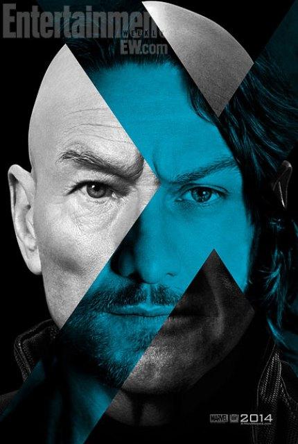 Primeros pósters oficiales de 'X-Men: Days of Future Past' dedicados a Magneto y al Profesor Xavier