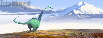 Nueva imagen de arte conceptual de 'The Good Dinosaur'