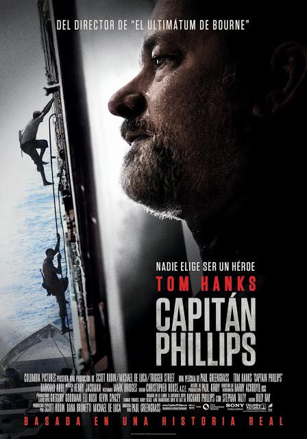 Nuevo póster del thriller 'Capitán Phillips' con Tom Hanks
