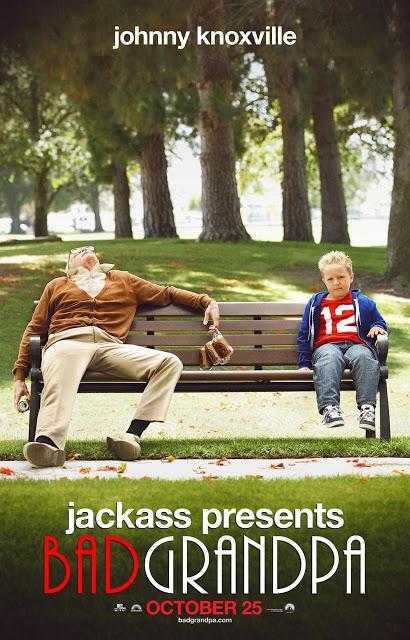Pósters y tráiler de la nueva película de 'Jackass presents: Bad Grandpa'