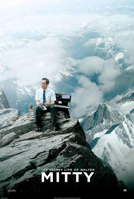 Ben Stiller en lo más alto del mundo en el nuevo póster de 'La vida secreta de Walter Mitty'