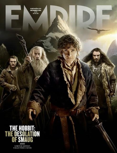 Empire lanza cinco portadas exclusivas para su revista de 'El Hobbit: La desolación de Smaug'