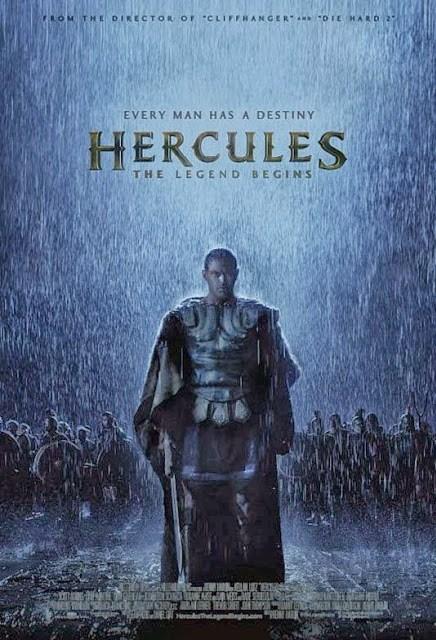 Póster oficial de 'Hercules: The Legend Begins' de Renny Harlin