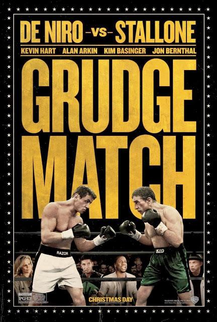 Llega el póster de Stallone Vs. De Niro en su nueva película pugilística 'Grudge Match'