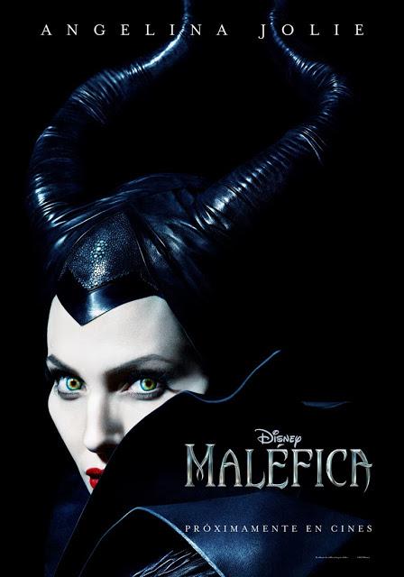Primer póster de 'Maléfica' con Angelina Jolie