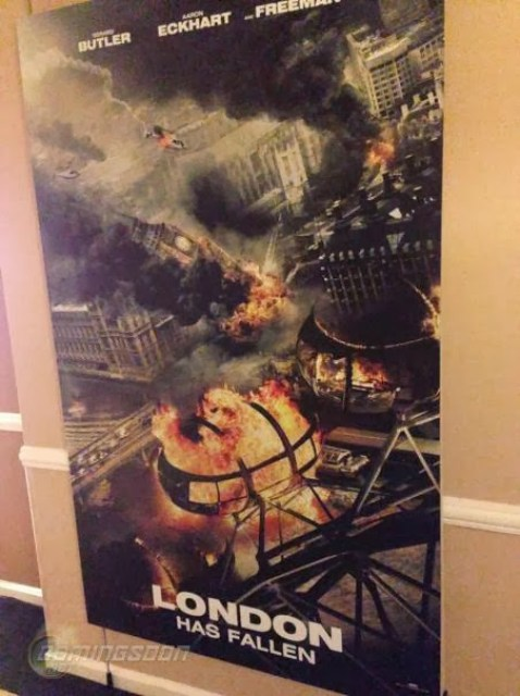 Teaser póster de 'London Has Fallen', secuela de 'Objetivo: La Casa Blanca'