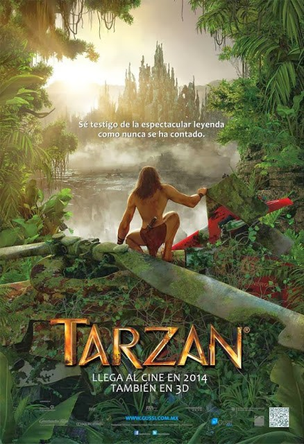 Nuevo póster internacional de 'Tarzan 3D'