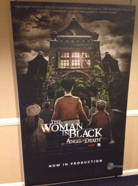 Primer póster de 'The Woman in Black: Angel of Death', secuela de 'La Mujer de Negro'