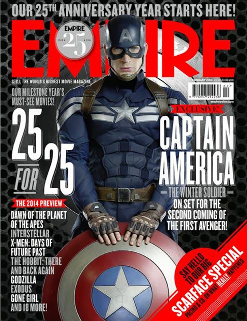 La revista Empire dedica sus portadas a 'Capitán América: El Soldado de Invierno'
