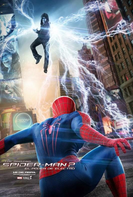 Nuevos pósters de 'The Amazing Spider-Man 2: El poder de Electro'