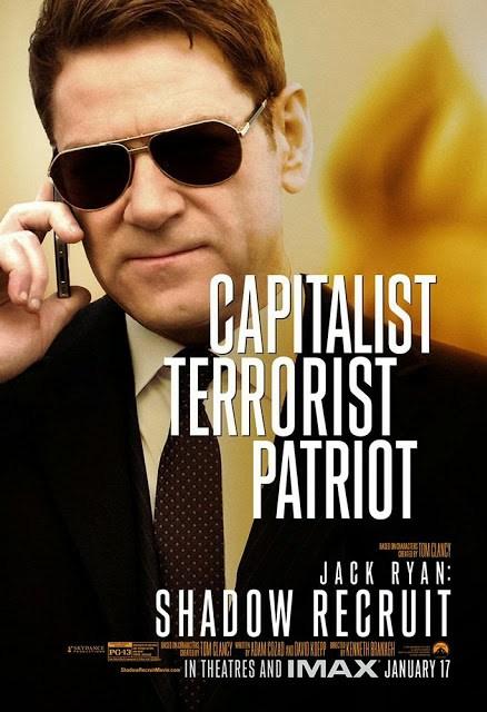 Capitalita. Terrorista. Patriota. Kenneth Branagh ya tiene su póster 'Jack Ryan: Operación Sombra'