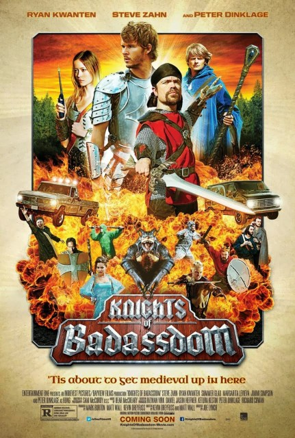 Pósters principal e individuales de 'Knights of Badassdom'