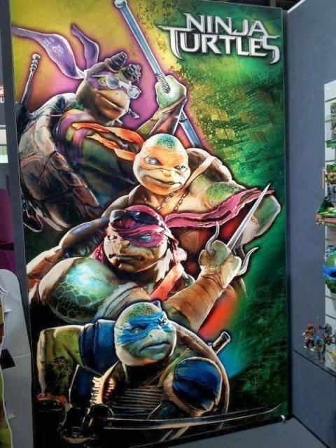 Revelado el aspecto de las Tortugas Ninja en el reinicio de 'Teenage Mutant Ninja Turtles'