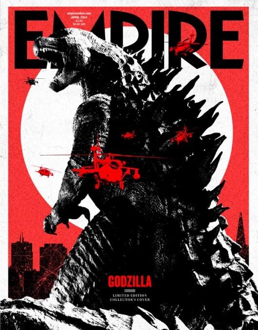'Godzilla' protagoniza la nueva portada de la revista Empire