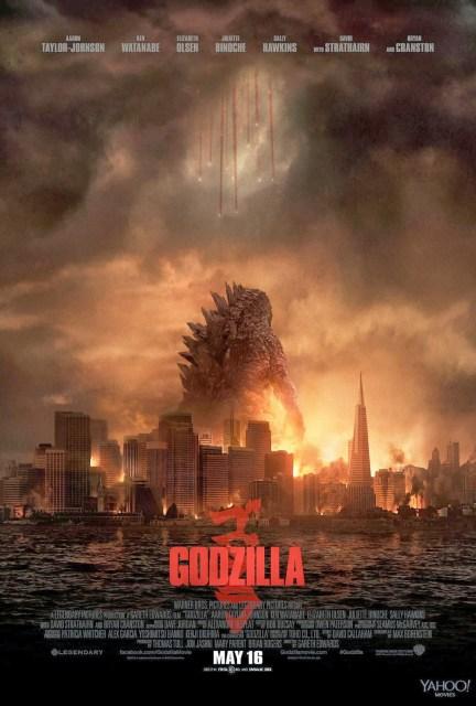 Aterriza el nuevo y aniquilador póster de 'Godzilla'