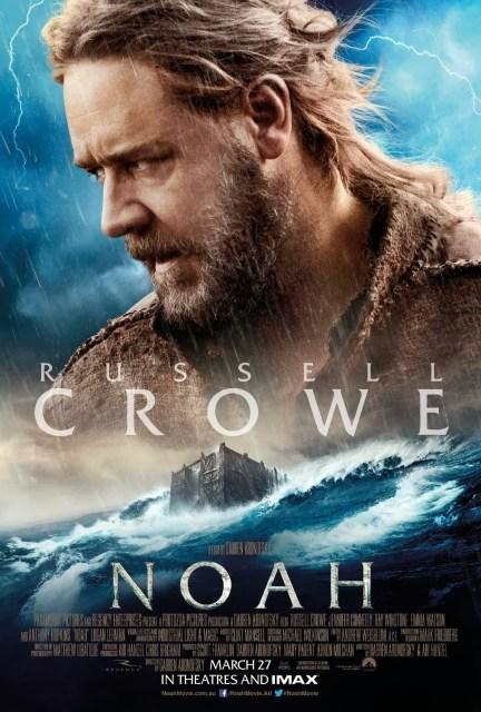 Dos nuevos pósters de los protagonistas de 'Noé'