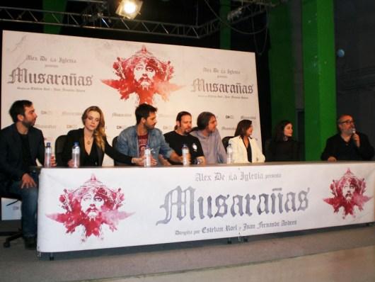 """Rueda de prensa y """"cómo se hizo"""" de 'Musarañas'"""