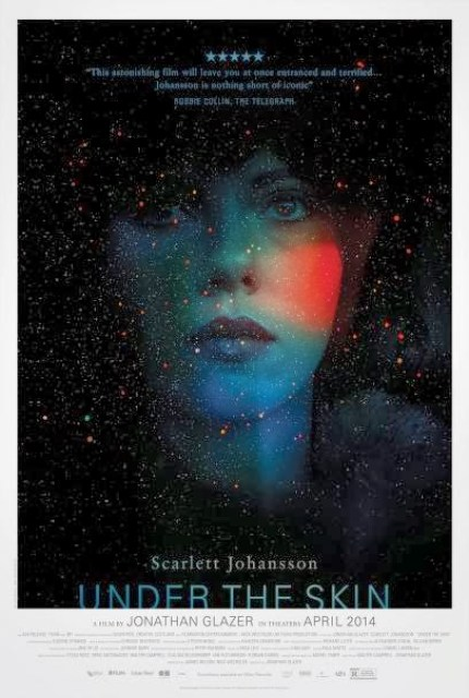 Póster internacional de 'Under the Skin', con Scarlett Johansson