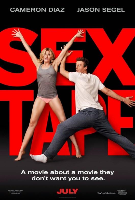 Primeras imágenes y póster de 'Sex tape', con Cameron Díaz y Jason Segel