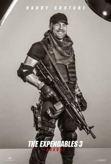 Dieciséis pósters individuales de los protagonistas de 'Los Mercenarios 3'